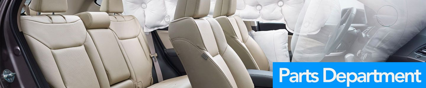 Honda of Ocala parts department, airbags in vehicle deploying