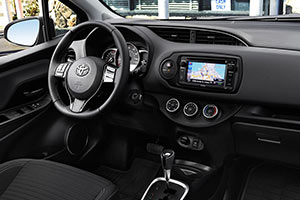 2017 Toyota Yaris Interior from All Star Toyota in Baton Rouge, LA