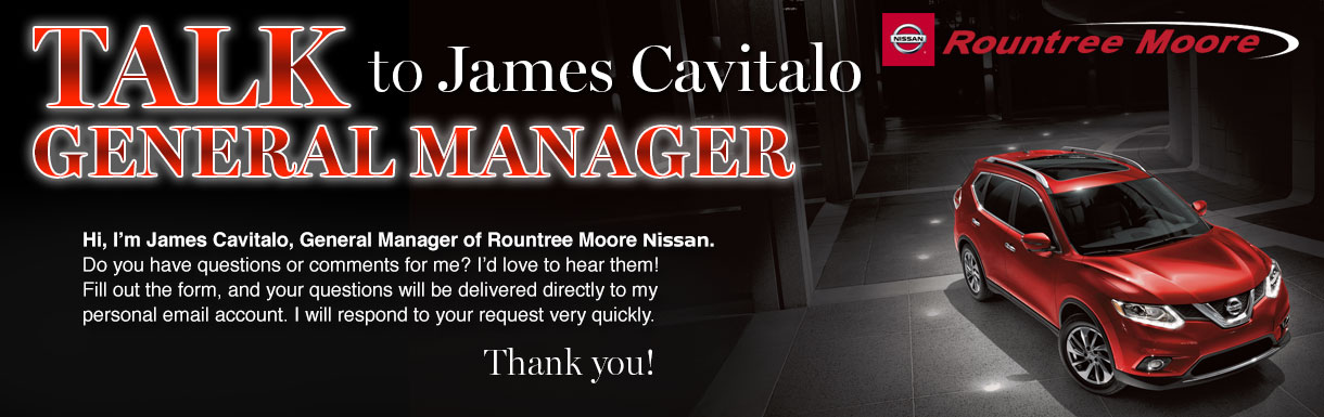 Talk to Manager James Cavitalo