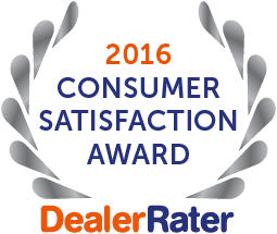 Dealer Rater Consumer Satisfaction Award