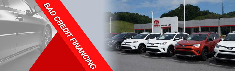 bad credit financing in Johnson City Toyota, TN