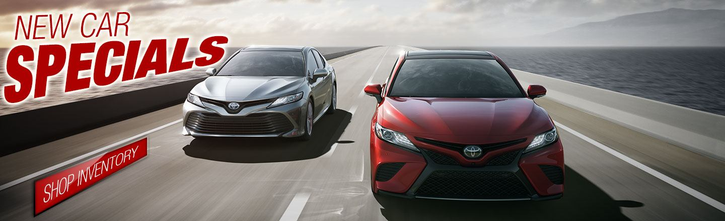 Nice Oakes Toyota | New Car Specials