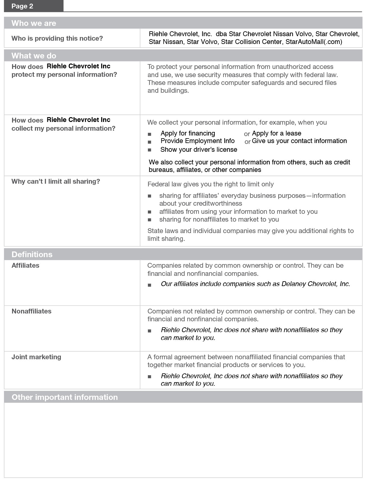 nissan business credit application