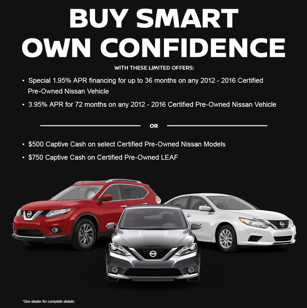 Rountree Moore Nissan Buy Smart Own Confidence