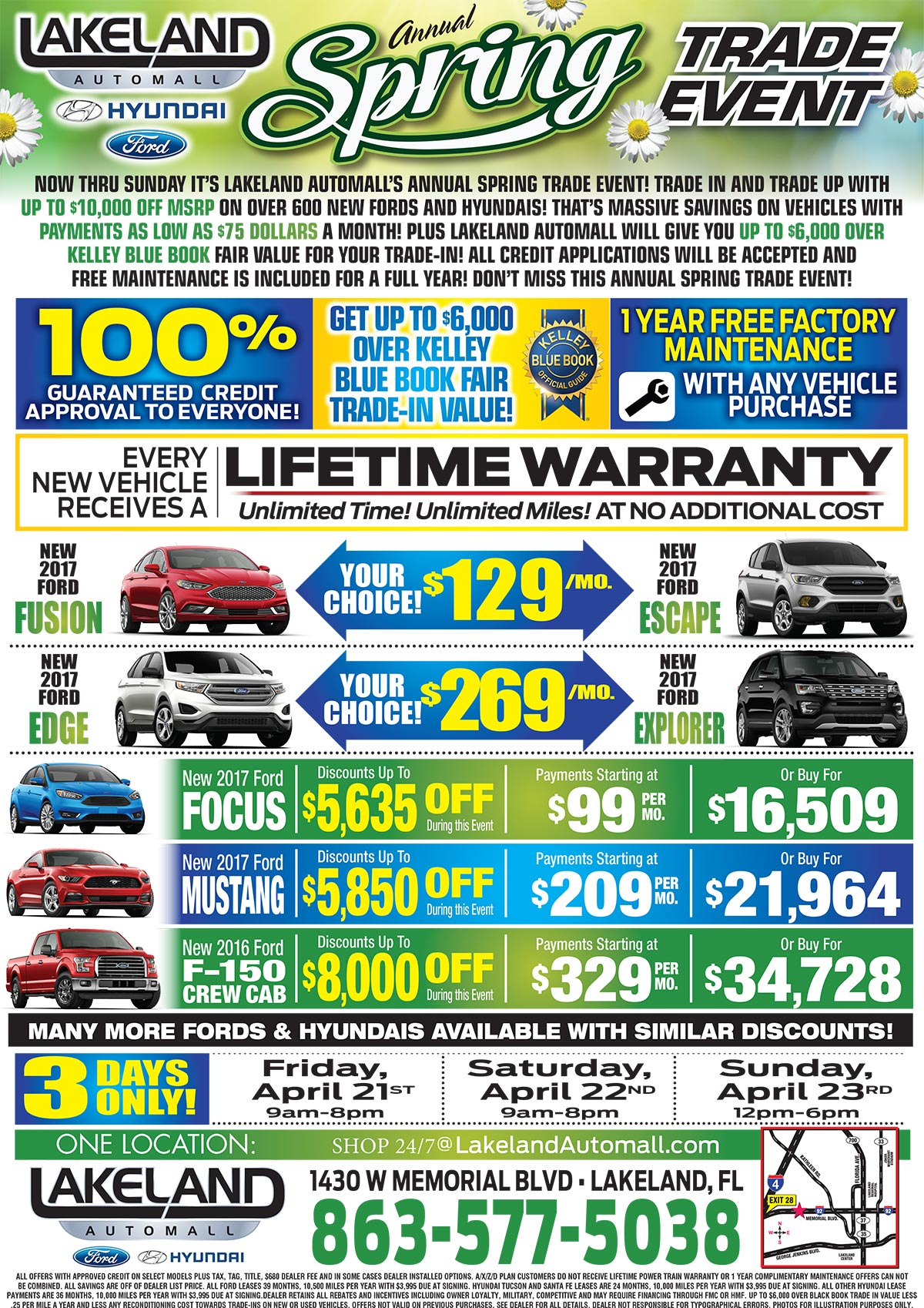 Search Lakeladn Ford Inventory