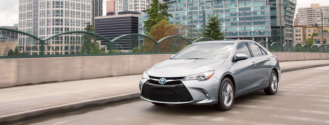 2017 Toyota Camry - silver