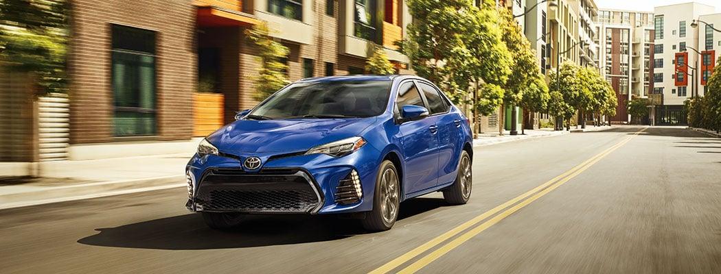 2017 Toyota Corolla - blue