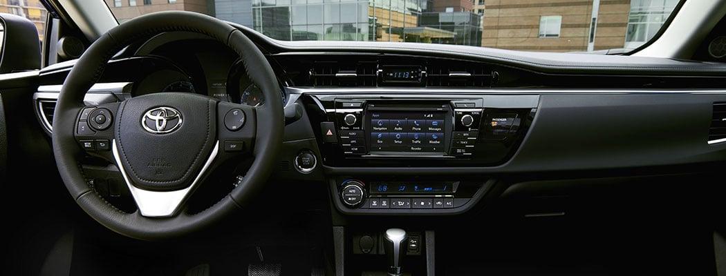 2017 Toyota Corolla - interior