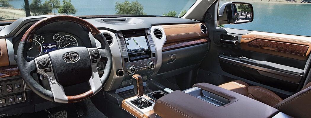 2017 Toyota Tundra - interior