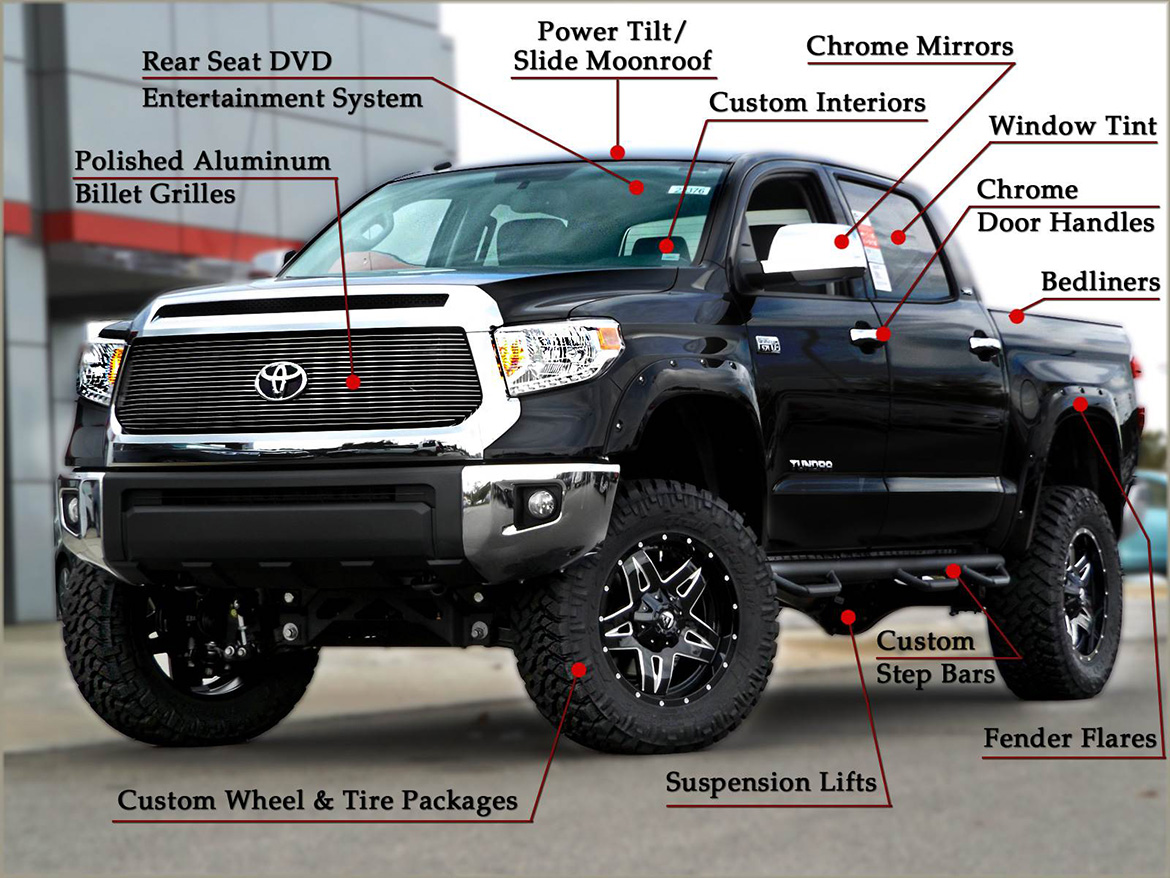 Tire Places Open Today >> Custom Toyota Tundra Trucks near Raleigh and Durham, NC