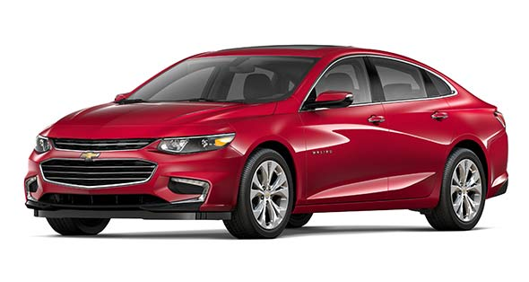 Jim Glover Group, red 2018 Chevrolet Malibu