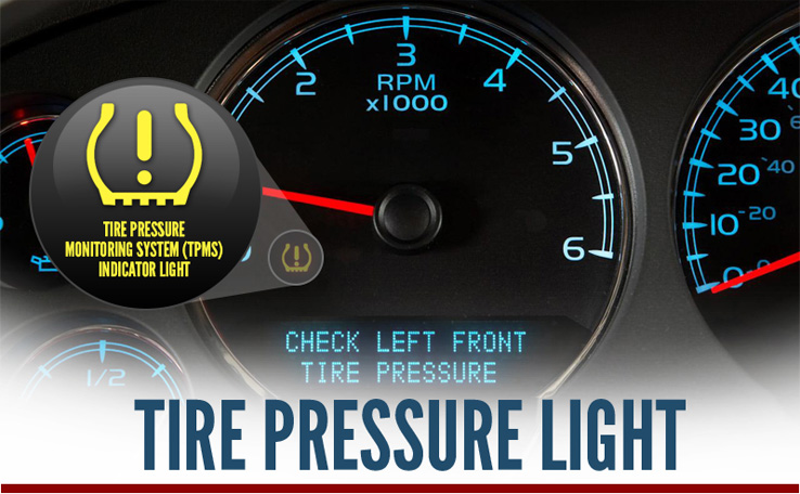 The Tire Pressure Monitoring System Indicator Light On Your Dashboard Shows  When Air Pressure Is Low, ...