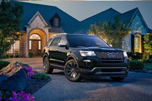 2017 Ford Explorer at All Star Ford in Baton Rouge Upgrades