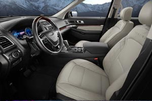 2017 Ford Explorer at All Star Ford in Baton Rouge Interior