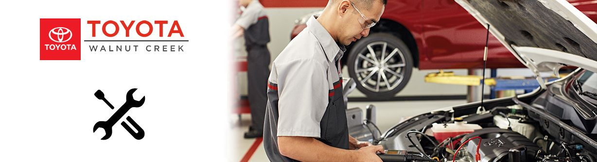Toyota Walnut Creek Service your vehicle
