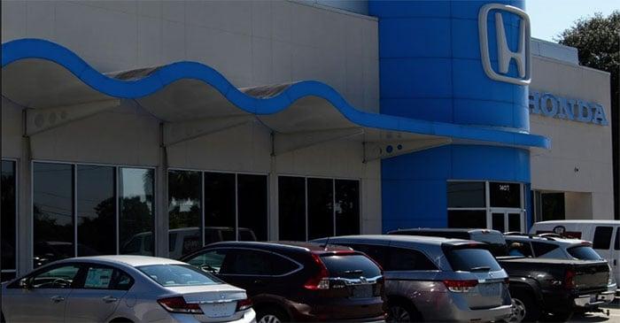 New honda and used car dealership in lafayette la moss for Honda dealership hours