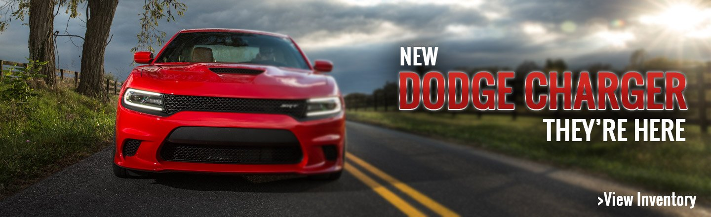 New Dodge Charger in San Antonio, TX.