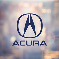 Burns Honda, Acura logo