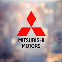 Burns Honda NJ, Mitsubishi logo