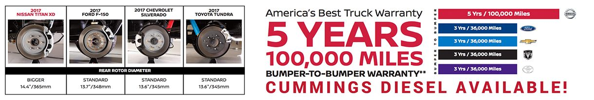 America's Best Truck Warranty at Dave Smith Nissan