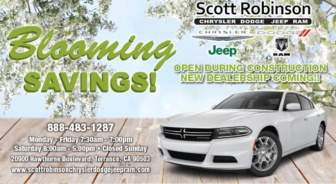 Blooming Savings at Scott Robinson