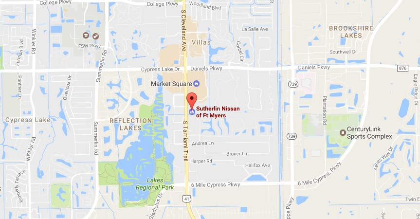 Sutherlin Nissan Of Fort Myers, FL Proudly Serves Cape Coral Drivers