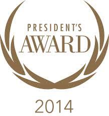 2014 president's award