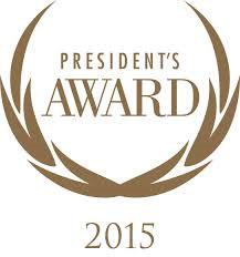 2015 president's award