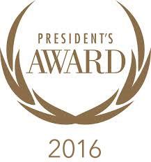 2016 president's award