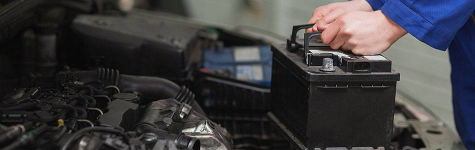 Battery Inspections and Replacements for Ford Vehicles