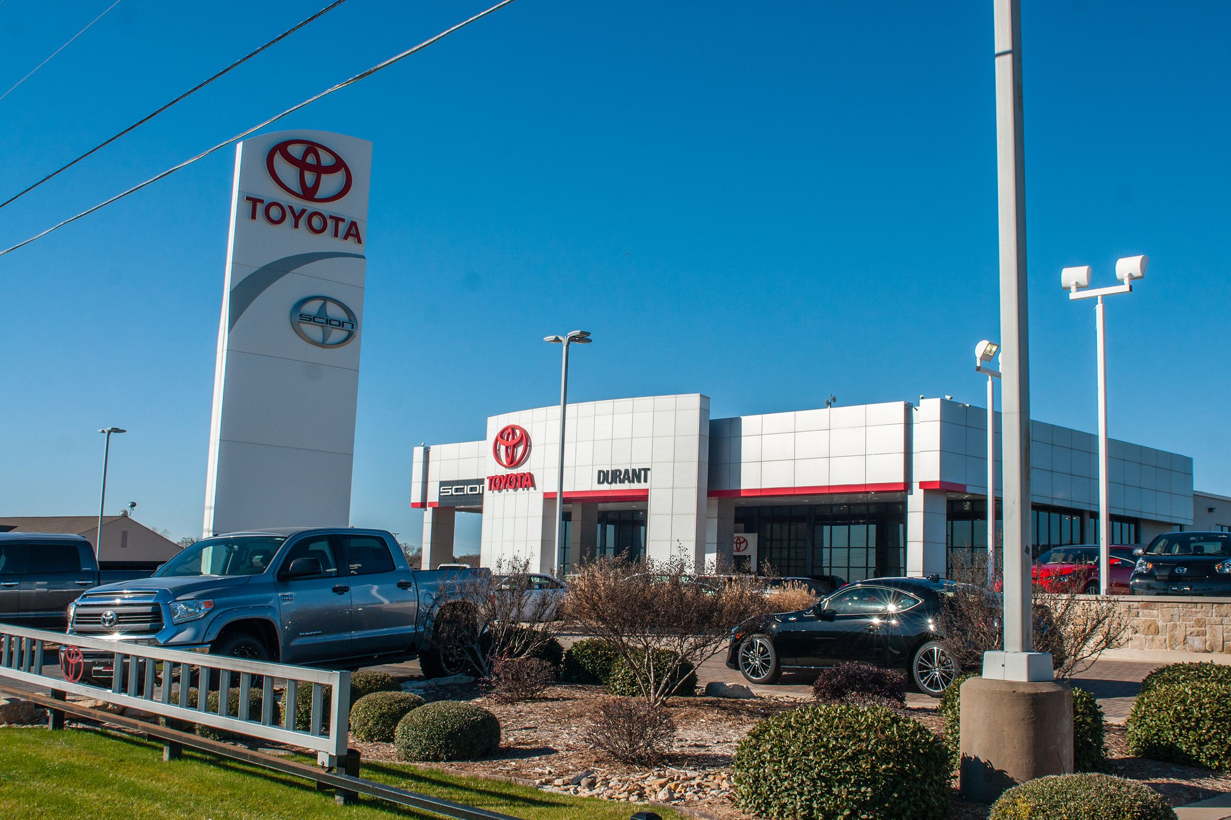 Toyota dealership serving weatherford and arlington tx durant toyota