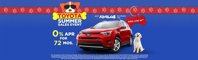 "CIN – Optional Campaign – ""Summer Sales Event RAV4 APR"""