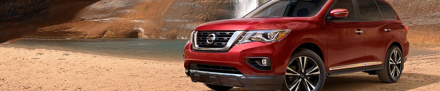 Clearlake Nissan, 2017 Nissan Pathfinder, red