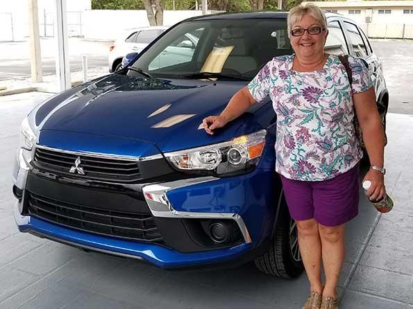Happy customer at Sarasota Mitsubishi