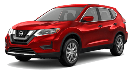 Dave Smith Nissan, 2017 Nissan Rogue, red