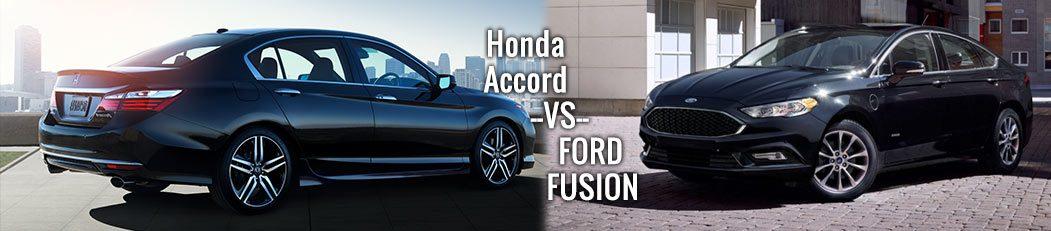 2017 honda accord sedan vs ford fusion dch paramus honda for Honda dealership paramus nj