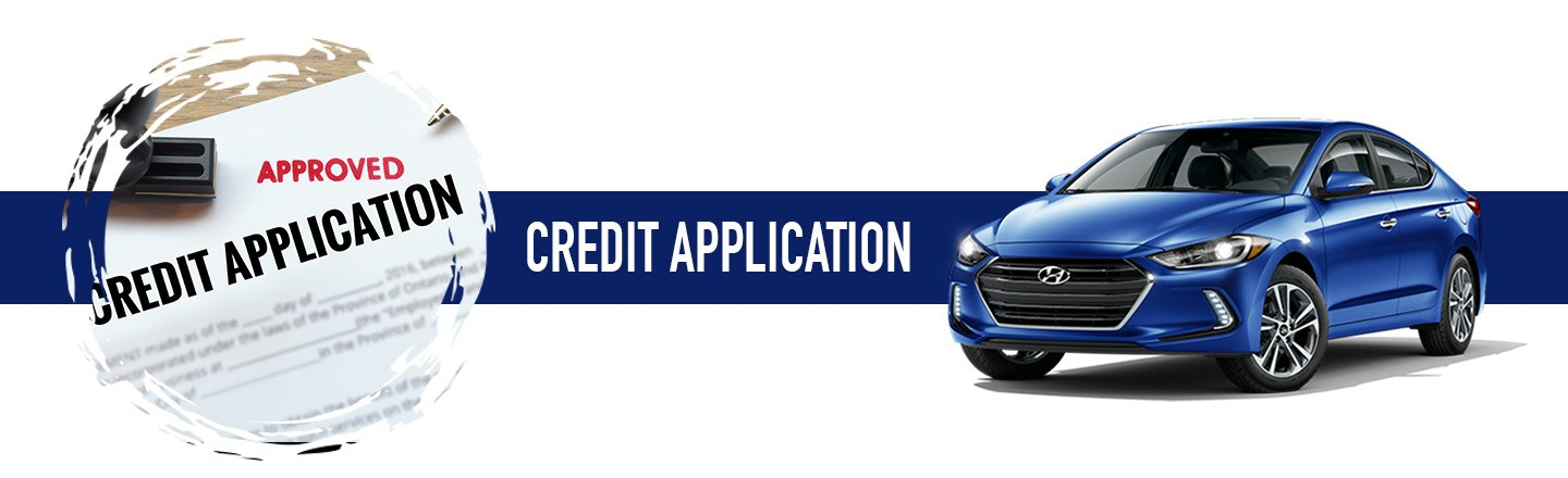 Secure Online Hyundai Credit Application
