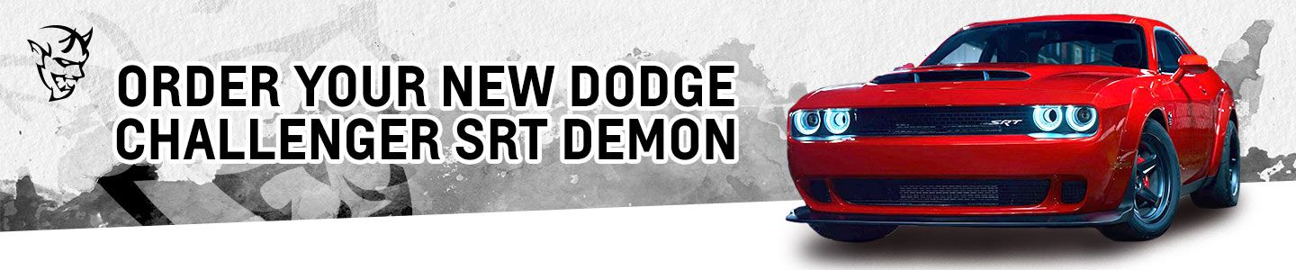 2018 Dodge Challenger SRT DEMON from Premier CDJR of Tracy