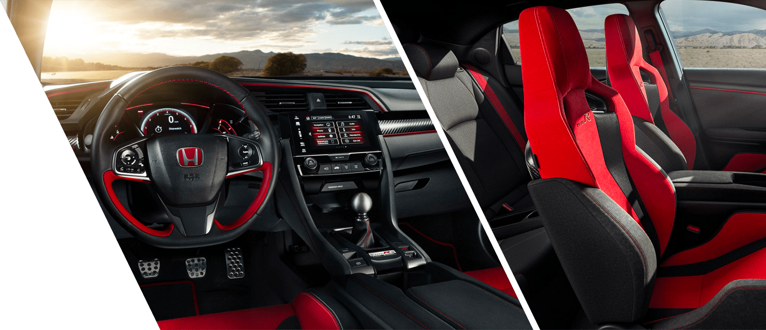 Interior Shots of the New 2018 Civic Type R at DCH Honda of Nanuet