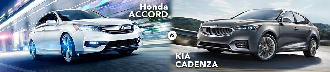 Honda Accord vs. Kia Cadenza