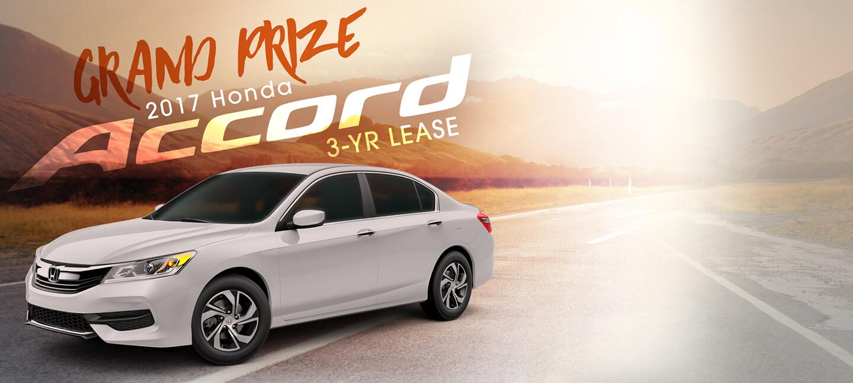 Grand Prize - 2017 Honda Accord