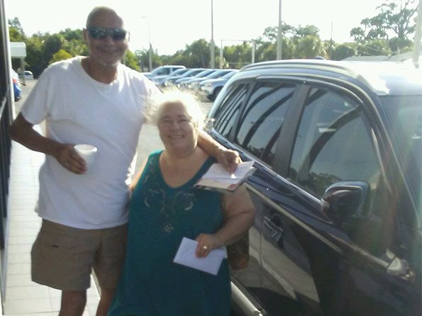 Sarasota Mitsubishi, happy customer