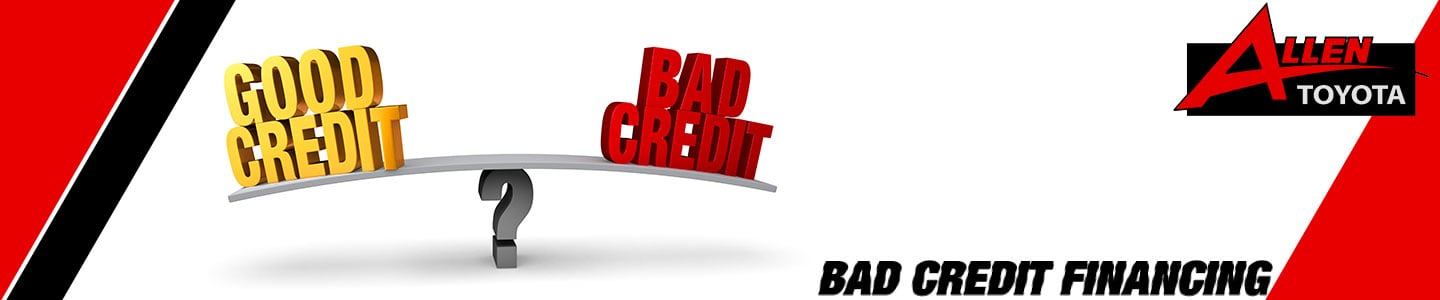Bad Credit Auto Financing in Gulfport, MS - Allen Toyota