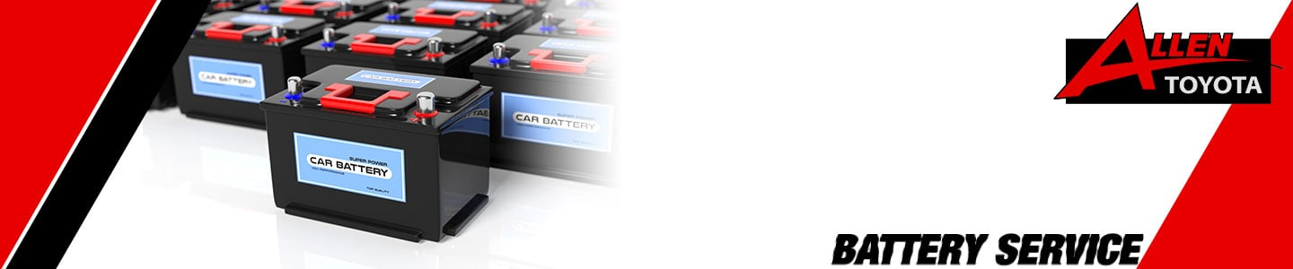 Battery Service and Installation in Gulfport, MS -| Allen Toyota