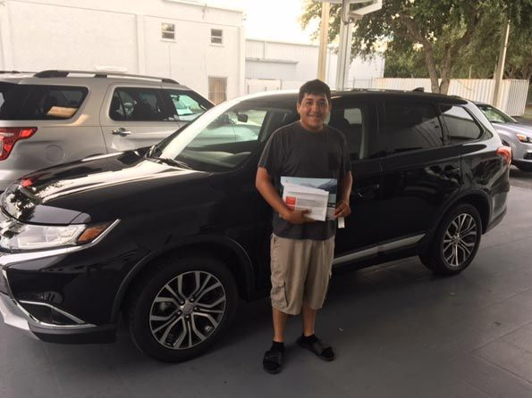 Happy Customer, Sarasota Mitsubishi