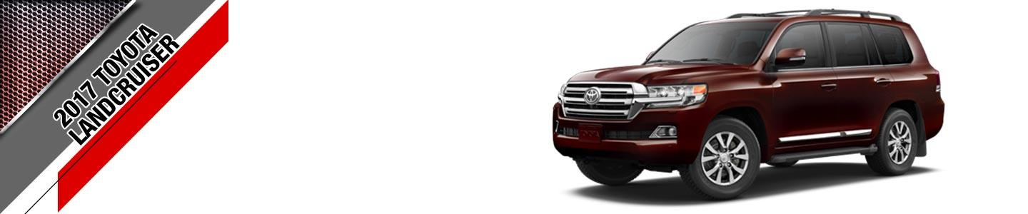 red 2017 toyota land cruiser