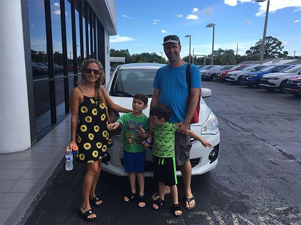 Sarasota Mitsubishi, Happy Customer