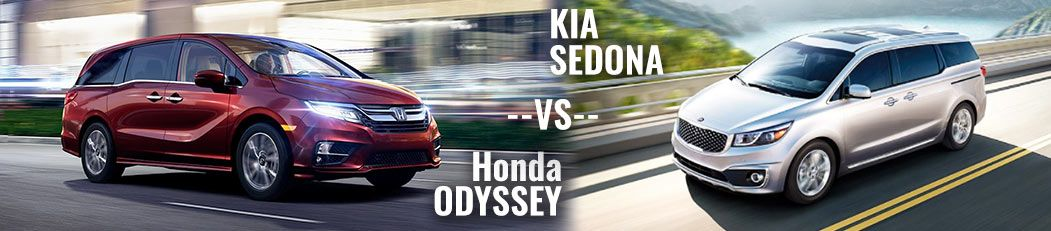 DCH Paramus Honda, Odyssey vs. Sedona