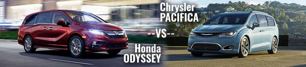 DCH Paramus Honda, Odyssey vs. Pacifica