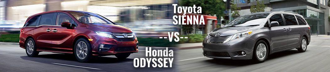 2018 honda odyssey vs toyota sienna dch paramus honda for Honda dealership paramus nj